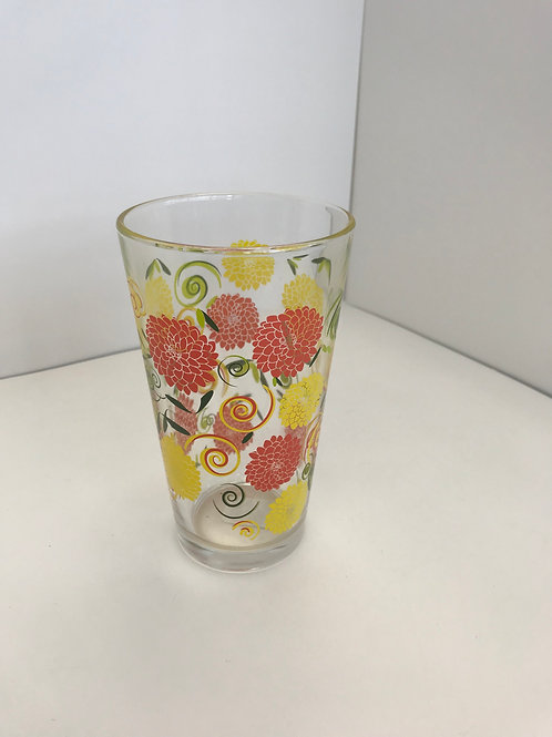 Glass Flower Cup