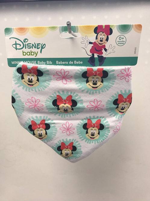 Minnie Flower Bib