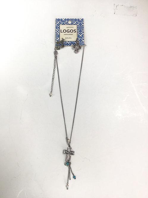 Faith Necklace& Earings