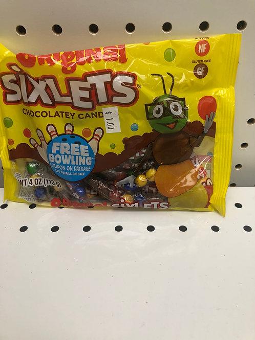 Sixlets Chocolate Candy 4 OZ
