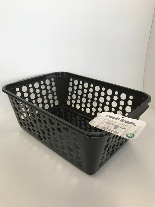 Pac-it Small Plastic Basket Assorted Colors 14 in X 10 in X 5.5 in