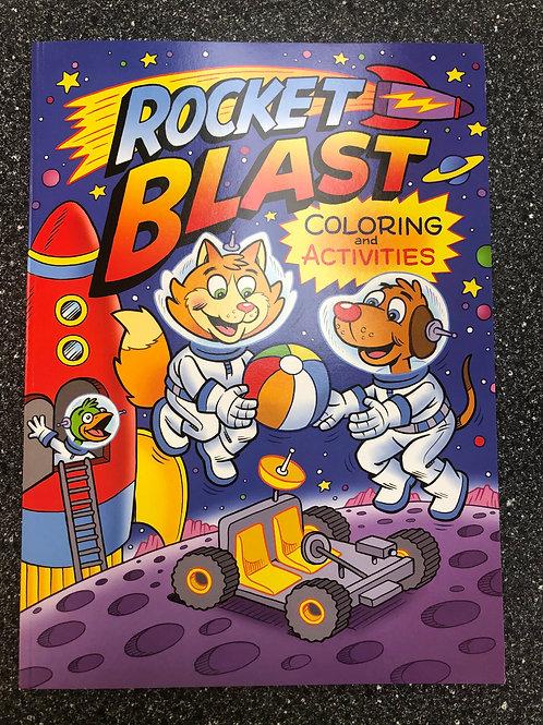 Rocket Blast Coloring & Activities