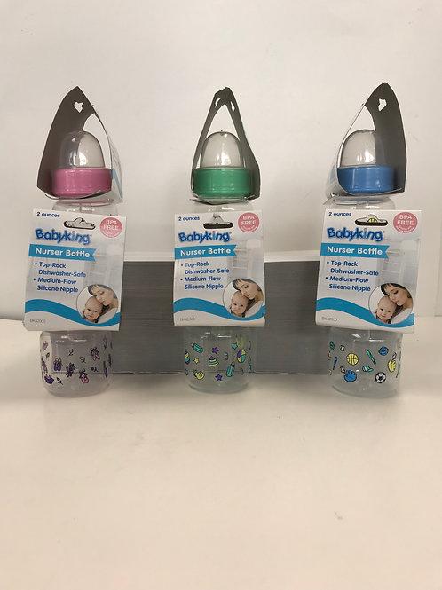 Nurser Bottle Assorted Colors