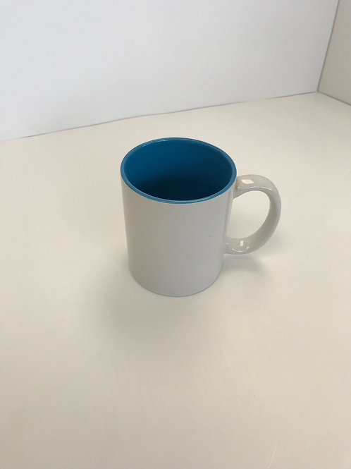White Outer Ceramic Coffee Cup