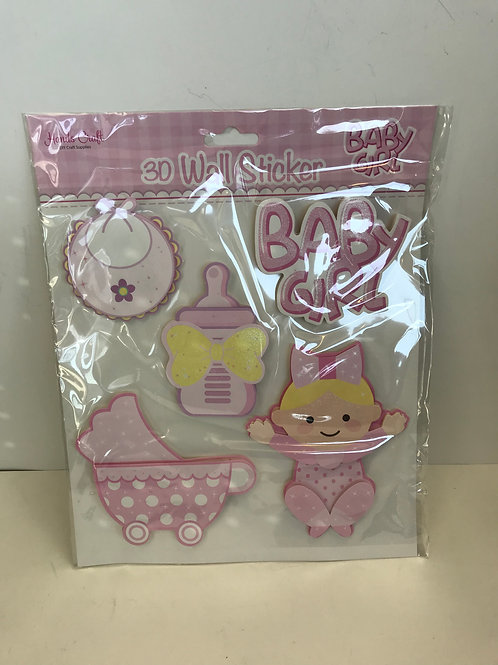 Baby Girl Wall Stickers