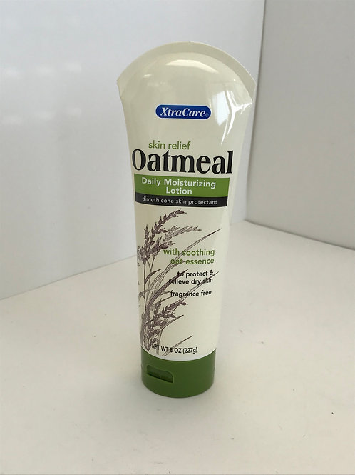 XtraCare Oatmeal Calming Lotion With Soothing Oat Essence 8 OZ