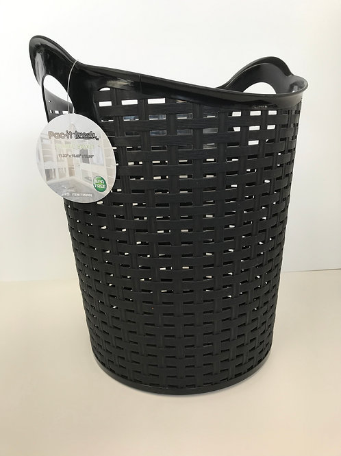 Pac-it Medium Size Plastic Basket Assorted Colors 11.22 in X 10.63 in X 12.99 in