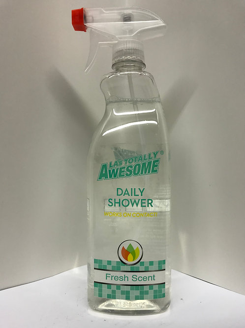 LA Totally Awesome Daily Shower Cleaner Fresh Scent 32 OZ