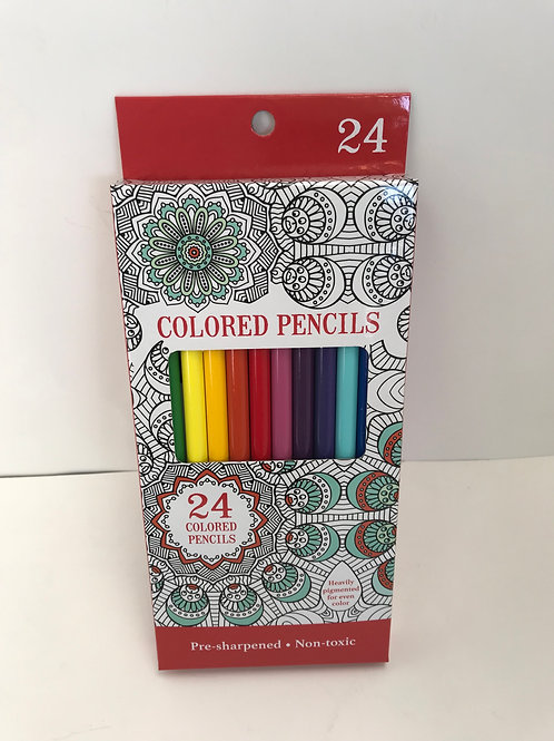 Colored Pencils 24pck