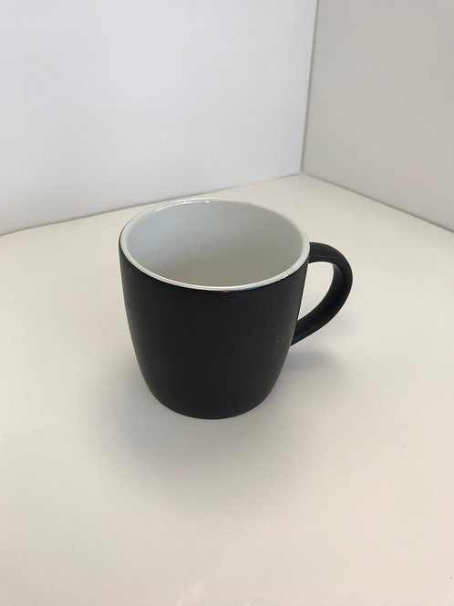 Black Ceramic Coffee Cup