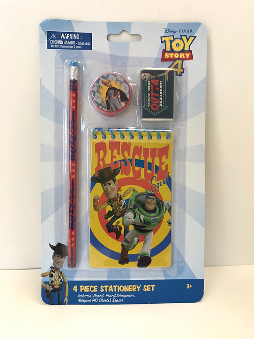 Disney Toy Story 4 Pc Stationary Set