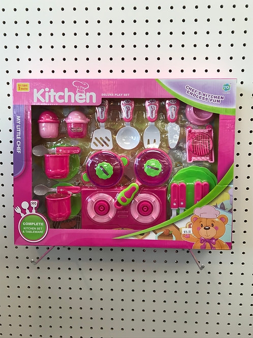 Kitchen Deluxe Play Set
