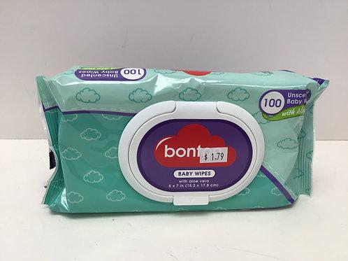 Bonton Baby Wipes 100 CT