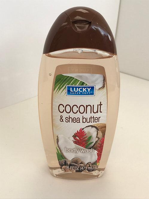 Lucky Cocoa & Shea Butter Body Wash 16 OZ
