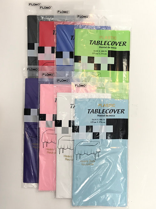 Table Covers Assorted Colors 54in. X 274cm