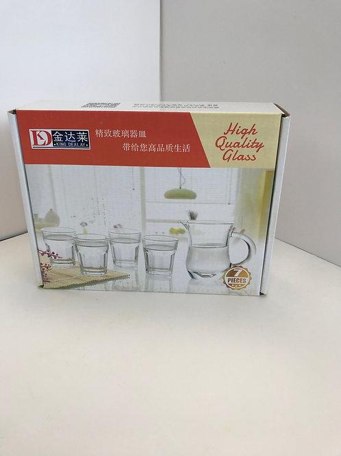 High Quality Glass 7 pc Mini Set
