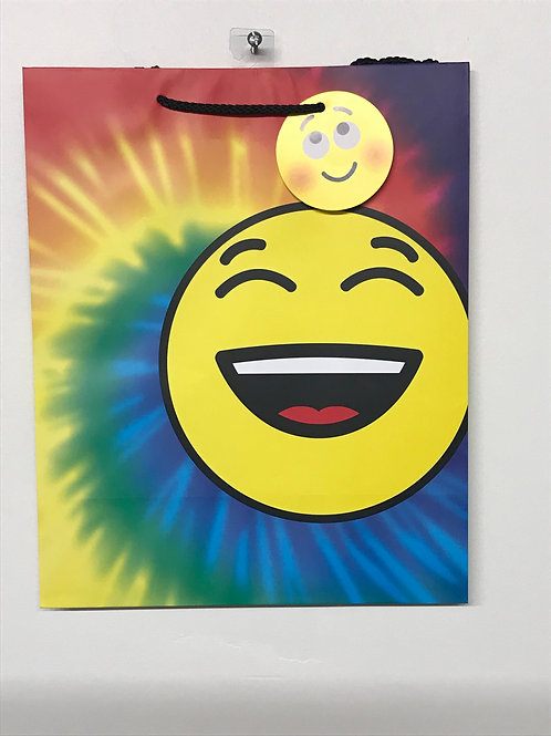 Happy Emoji Medium Gift Bag