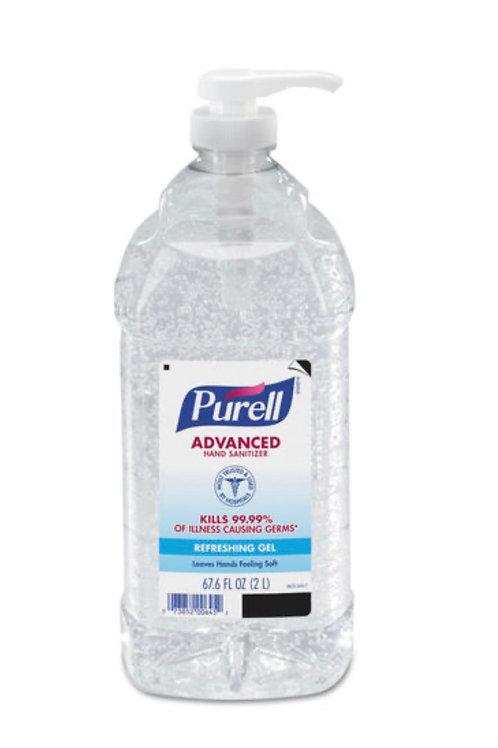 Purell Advanced Hand Sanitizer 67.6 oz (2 L)