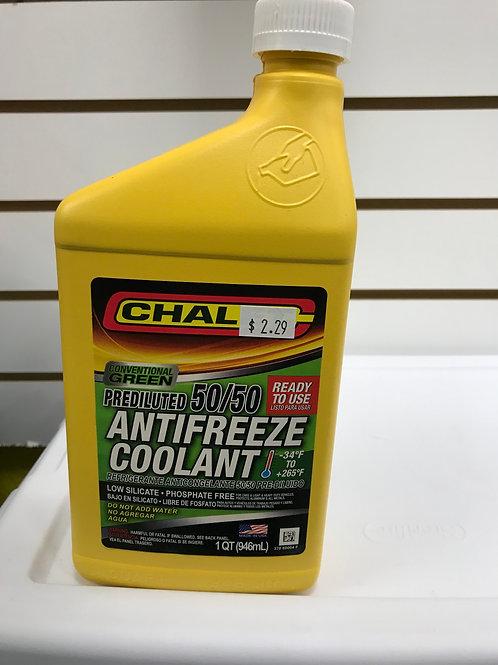Chalet Antifreeze Coolant 1 QT