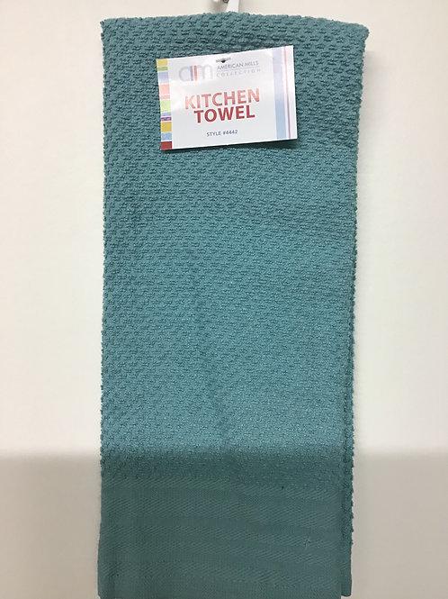 American Mills Kitchen Towel (Teal Green)