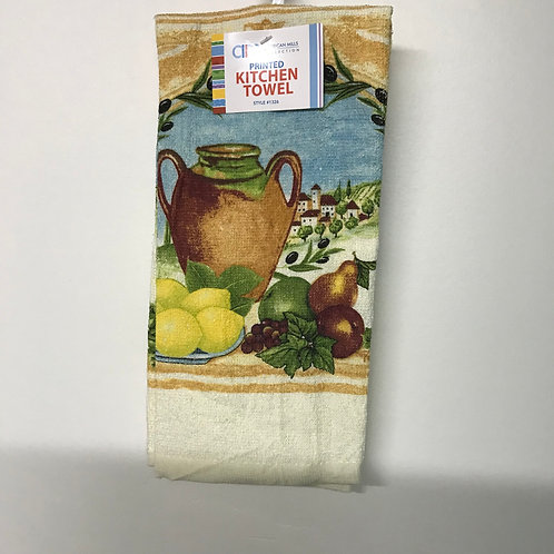 American Mills Kitchen Towel (Lemons & Pot)