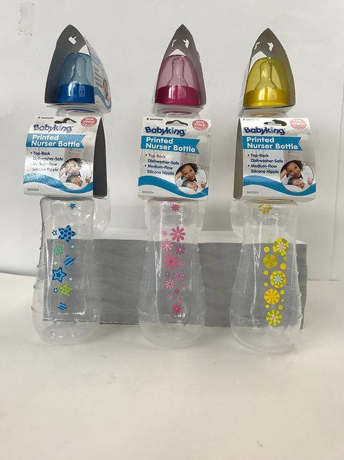 Printed Nurser Bottle Assorted Colors