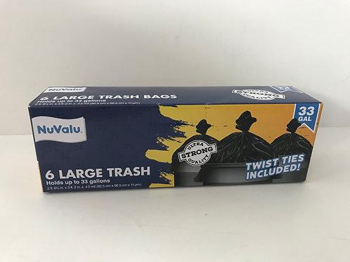 NuValu Large Trash Bag 33gal