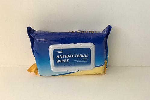 Superfy Antibacterial Wipes 60 ct
