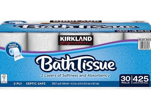 Kirkland Signature Bath Tissue 30 Rolls 2-Ply