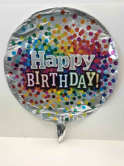 Bday Confetti Balloon