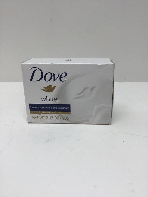 Dove White Beauty Bar With Deep Moisture 3.17oz