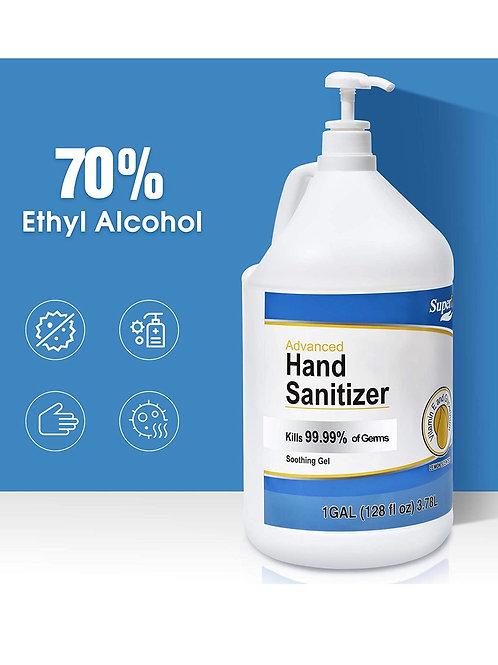 Superfy Advanced Hand Sanitizer w/pump 1 Gal