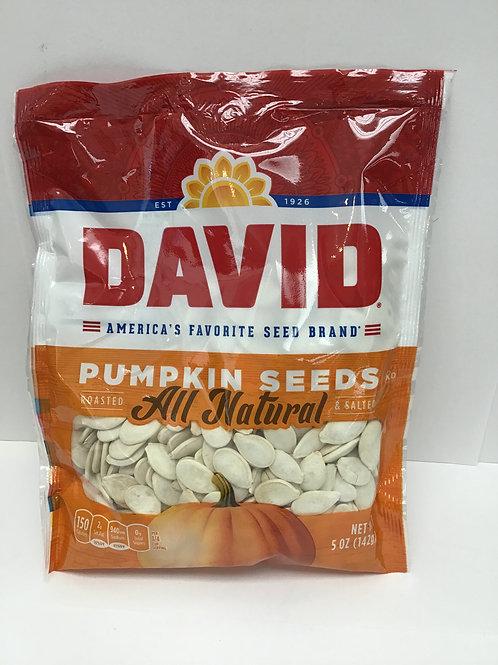 David's Jumbo Pumkin Seeds