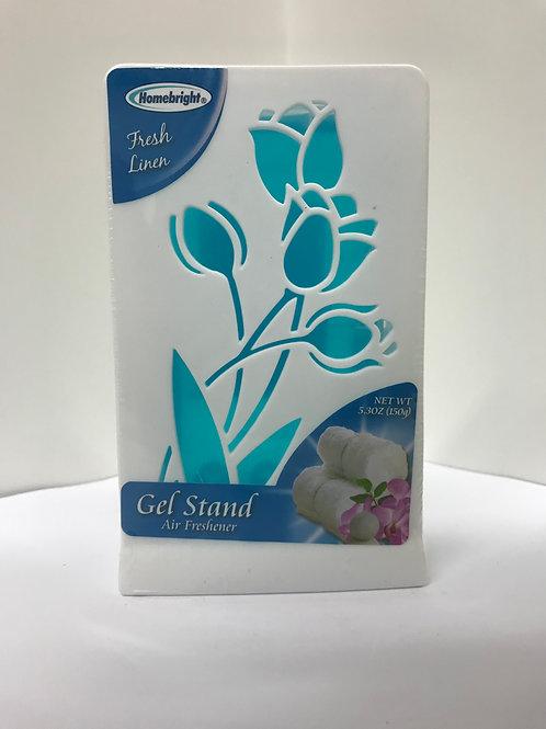 Homebright Fresh Linen Gel Stand Air Freshener 5.3 OZ