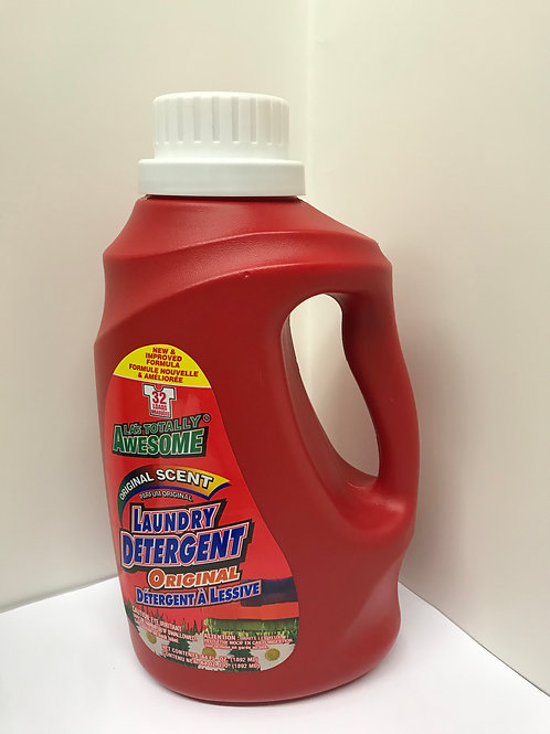 LA Totally Awesome Laundry Detergent (Original Scent) 64 OZ