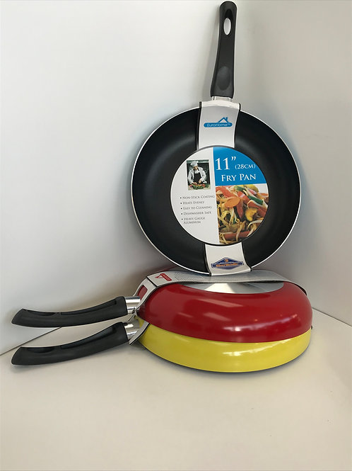 """11"""" Fry Pan Assorted Colors"""
