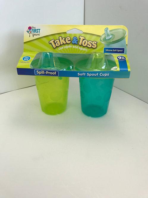 Take & Toss Spout Cups