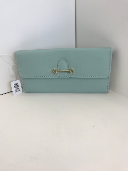 Turquoise Hand Wallet