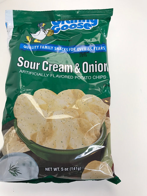 Granny Goose Sour Cream & Onion Chips