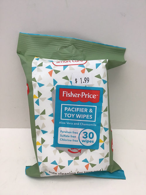 Fisher Price Pacifier & Toy Wipes
