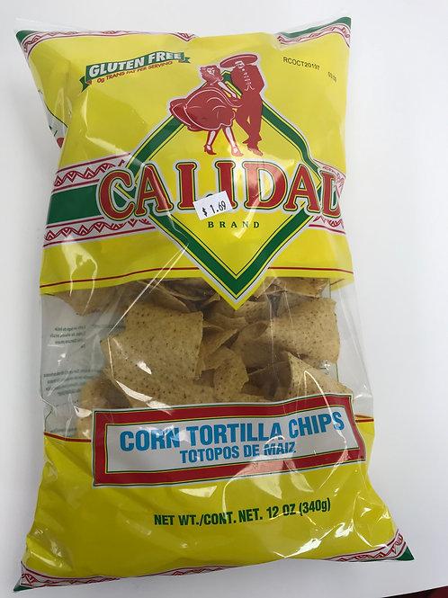 Calidad Corn Tortilla Chips