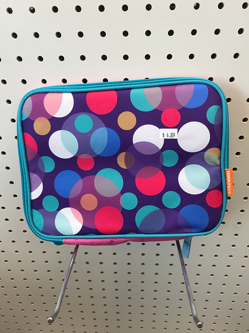 Colorful Poker Dots Lunch Box