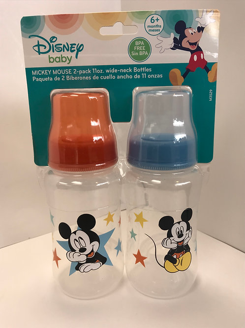 Mickey Mouse Baby Bottles 2Pk