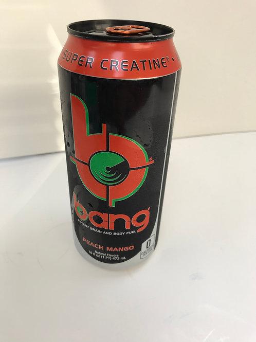 Bang Peach Mango 16 OZ