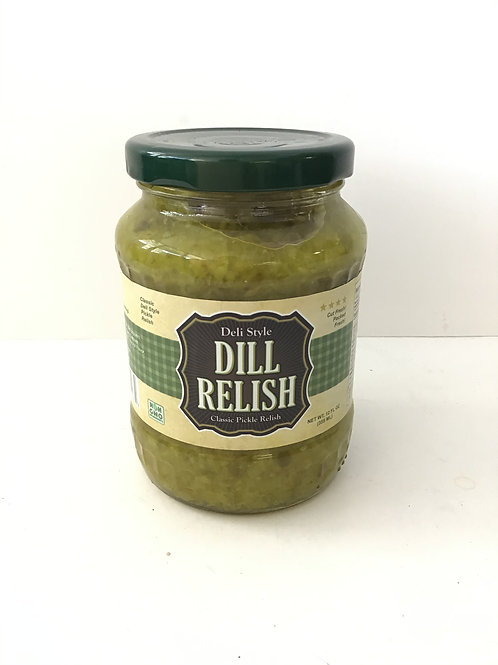 Icy Mountains Dill Relish