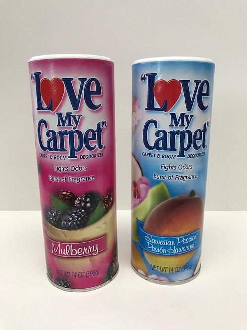 """I Love My Carpet"" Carpet Deodorizer"
