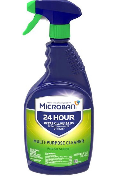 Microban 24 Hour Multi-Purpose Cleaner (Fresh Scent) 22 oz