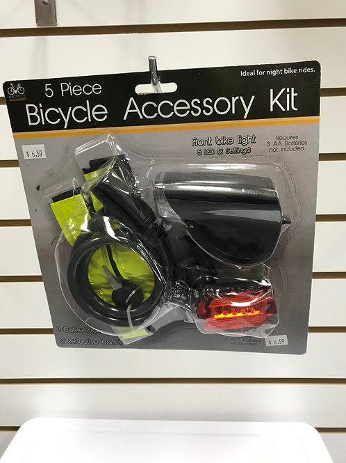 Bicycle Accessory Kit 5 pc