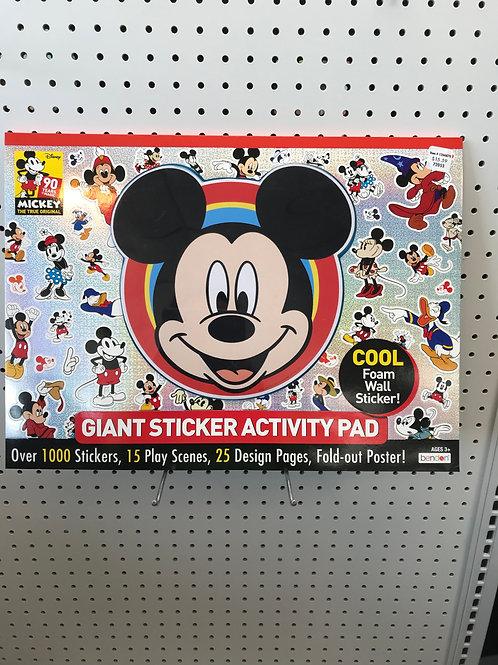 Mickey Giant Sticker Activity Pad