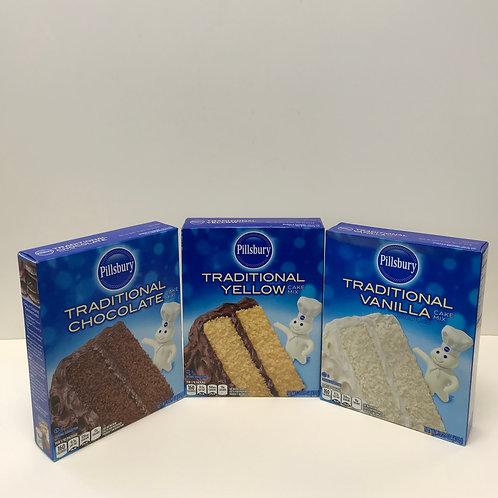 Pillsbury Traditional Cake Mix Assorted 15.25 oz